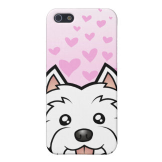 West Highland White Terrier Love Case For The iPhone 5