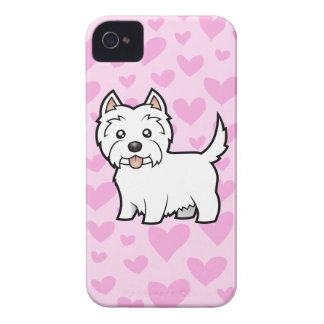 West Highland White Terrier Love iPhone 4 Case