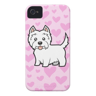 West Highland White Terrier Love iPhone 4 Cover