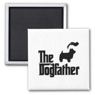 West Highland White Terrier Square Magnet