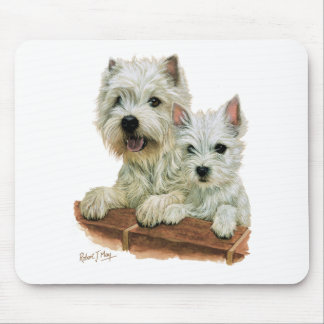 West Highland White Terrier Mouse Mat