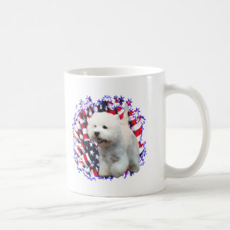 West Highland White Terrier Patriot Mugs