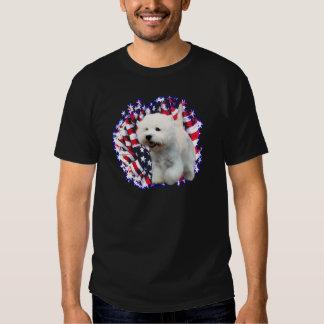 West Highland White Terrier Patriot Tee Shirt