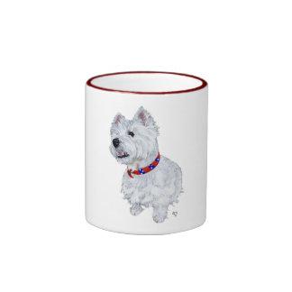 West Highland White Terrier Patriotic Mug