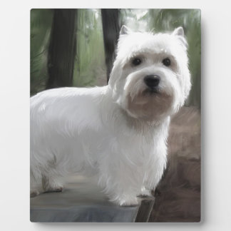 West Highland White Terrier Plaque