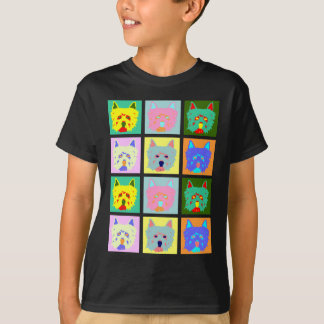 West Highland White Terrier Pop Art T-Shirt