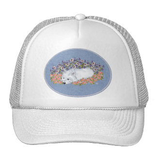 West Highland White Terrier Repose Mesh Hat