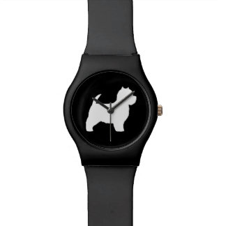 West Highland White Terrier Silhouette Watch