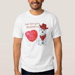 West Highland White Terrier Valentine Tshirt