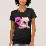West Highland White Terrier Valentines Tshirts