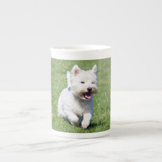 West Highland White Terrier, westie dog cute photo Tea Cup