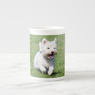 West Highland White Terrier, westie dog cute photo Tea Cup