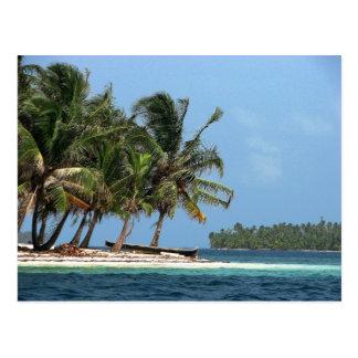 West Holandes, Kuna Yala, Panama Postcard