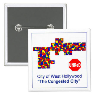 West Hollywood -- The Congested City Button