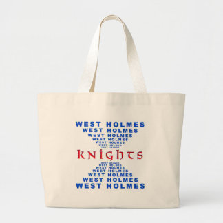 West Holmes Knights Canvas Bags