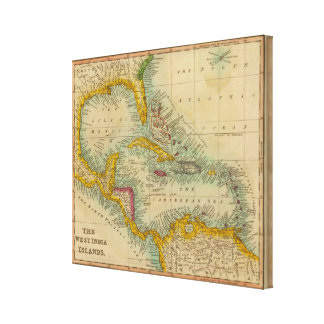 West India Islands Canvas Print