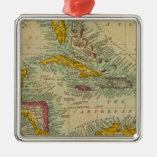 West India Islands Christmas Ornament