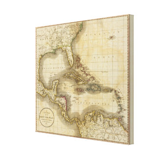 West India Isles Canvas Print