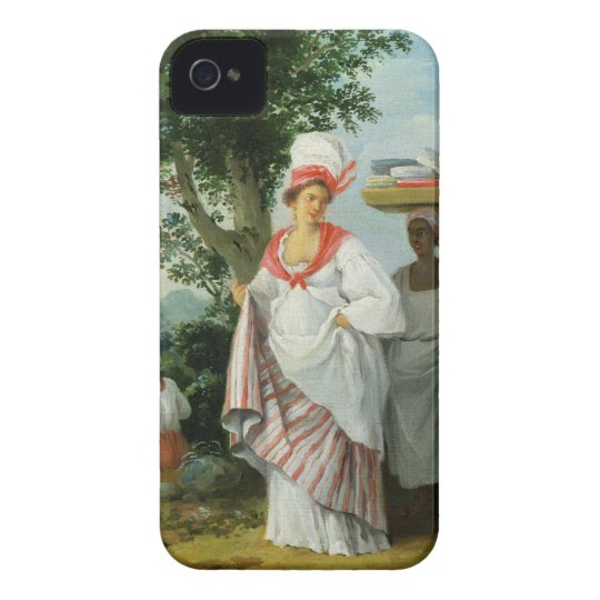 West Indian Creole Woman with her Black Servant, c iPhone 4 Covers