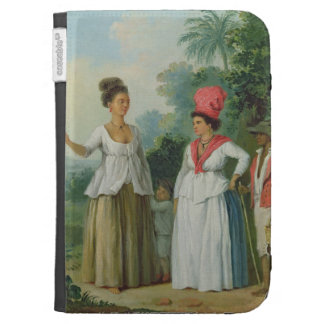 West Indian Women of Colour, with a Child and Blac Cases For The Kindle