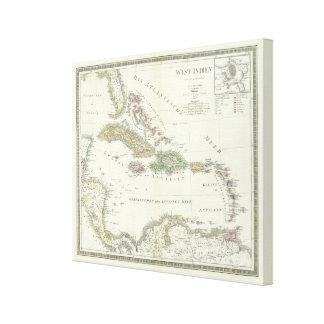 West Indien - West Indies Canvas Print