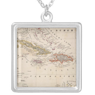 West Indies 10 Silver Plated Necklace