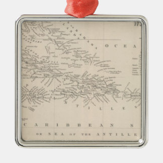 West Indies 11 Christmas Ornament
