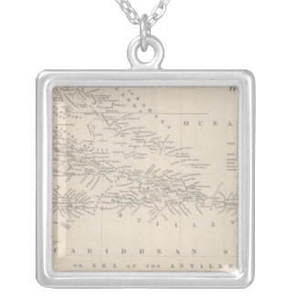 West Indies 11 Silver Plated Necklace