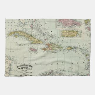 West Indies 11 Tea Towel