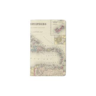 West Indies 13 Pocket Moleskine Notebook