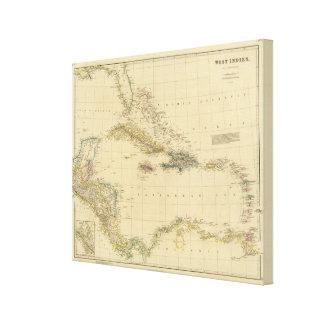 West Indies 16 Canvas Print