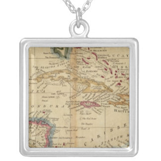 West Indies 16 Silver Plated Necklace