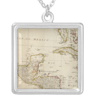 West Indies 17 Silver Plated Necklace