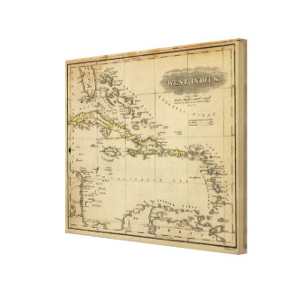 West Indies 19 Canvas Print