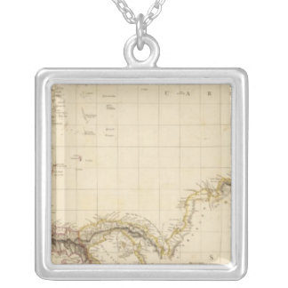 West Indies 20 Silver Plated Necklace