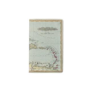 West Indies 21 Pocket Moleskine Notebook