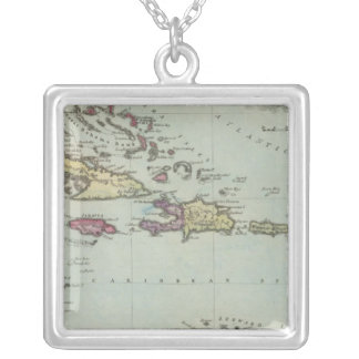 West Indies 21 Silver Plated Necklace
