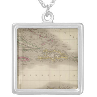 West Indies 22 Silver Plated Necklace