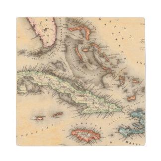 West Indies 2 Wood Coaster