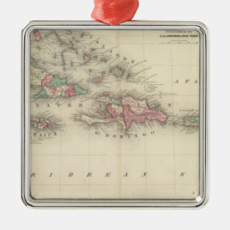 West Indies 3 Christmas Ornament