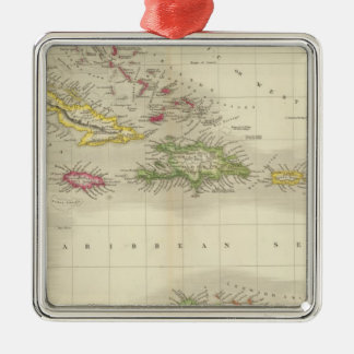West Indies 6 Christmas Ornament