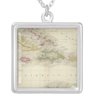 West Indies 6 Silver Plated Necklace