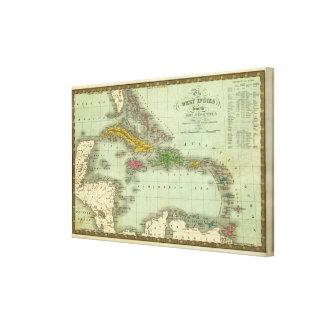 West Indies 7 Canvas Print