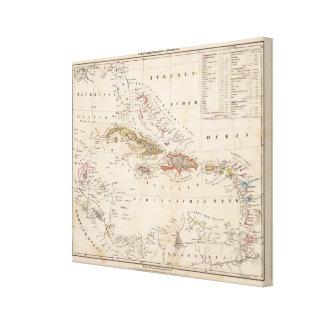 West Indies 8 Canvas Print