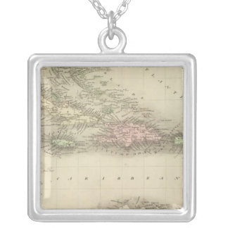 West Indies 8 Silver Plated Necklace