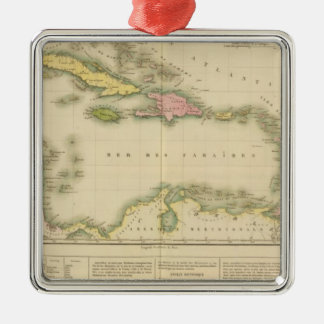 West Indies 9 Christmas Ornament