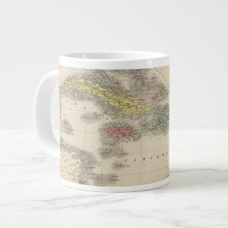 West Indies 9 Large Coffee Mug