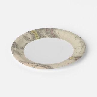 West Indies 9 Paper Plate