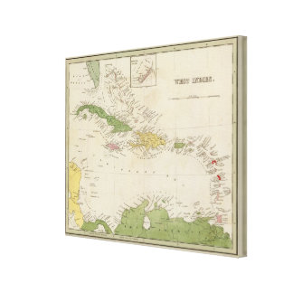 West Indies Canvas Print