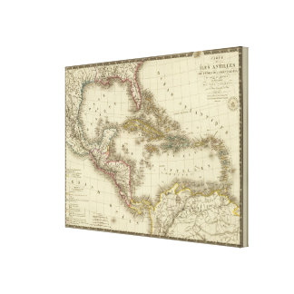 West Indies Central America Canvas Print